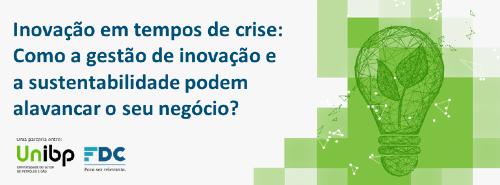 UnIBP e FDC promovem aula sobre gestão da inovação e da sustentabilidade